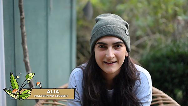 Mushroom course Alia testimonial