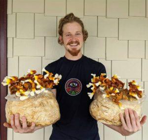 Sam The Mushroom Man Makes A Martha Mushroom Fruiting Chamber